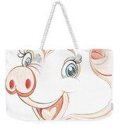 Jolly Miss Piggy Weekender Tote Bag