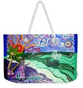 Jonah And The Whale Weekender Tote Bag by Genevieve Esson