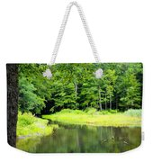 Jones Mill Run Creek Weekender Tote Bag