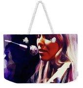 Joni Mitchell, Music Legend Weekender Tote Bag