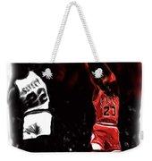 Jordan Over Salley Weekender Tote Bag