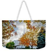 Jordan River Temple Weekender Tote Bag by La Rae  Roberts