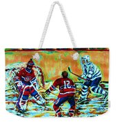 Jose Theodore The Goalkeeper Weekender Tote Bag