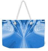 Josea - Blue Weekender Tote Bag