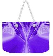 Josea - Purple Weekender Tote Bag