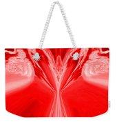 Josea - Red Weekender Tote Bag