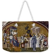 Joseph And Mary Weekender Tote Bag
