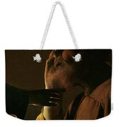 Joseph And The Angel Weekender Tote Bag by Georges de la Tour