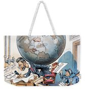 Joseph Pulitzer Cartoon Weekender Tote Bag