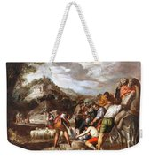 Joseph Sold By His Brothers Weekender Tote Bag