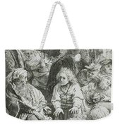 Joseph Telling His Dreams Weekender Tote Bag