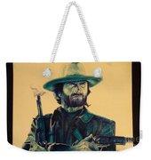 Josey Wales Outlaw. Smokin Gun Weekender Tote Bag