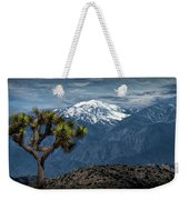Joshua Tree At Keys View In Joshua Park National Park Weekender Tote Bag