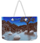Joshua Tree At Night Weekender Tote Bag