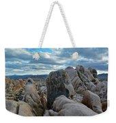 Joshua Tree Boulder Sky Weekender Tote Bag