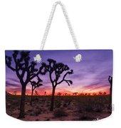 Joshua Tree Pastel Colors Weekender Tote Bag