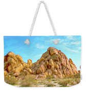 Joshua Tree Rocks Weekender Tote Bag