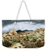 California Desert Landscape - Watercolor Art Weekender Tote Bag