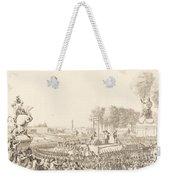 Journee Du 16 Octobre 1793, La Morte De Marie-antoinette Weekender Tote Bag