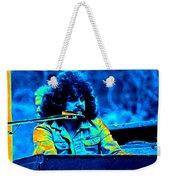 Journey #17 Enhanced In Cosmicolors Weekender Tote Bag