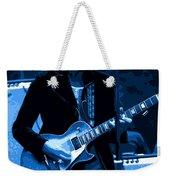 Journey #18 Enhanced In Blue Weekender Tote Bag
