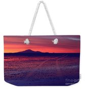 Journey In A Purple Dreamland Weekender Tote Bag