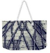 Journey Marks Weekender Tote Bag
