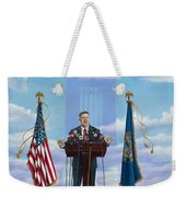 Journey Of A Governor Dave Heineman Weekender Tote Bag