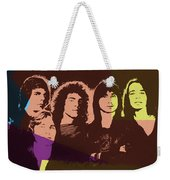 Journey Rock Band Pop Art Weekender Tote Bag