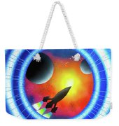 Journey To The Future  Weekender Tote Bag