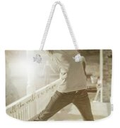 Joy To The World Quote Weekender Tote Bag