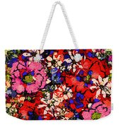 Joyful Flowers Weekender Tote Bag