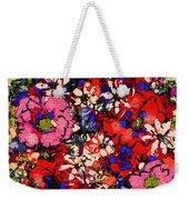 Joyful Flowers Weekender Tote Bag