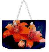 Joyful Lilies Weekender Tote Bag
