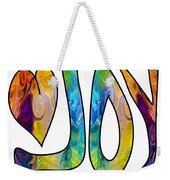 Joyful Occasions Abstract Inspirational Art By Omaste Witkowski Weekender Tote Bag