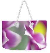 Joyful Sisters. Gentle Floral Macro Weekender Tote Bag