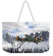 Ju52 - Alpine Passage Weekender Tote Bag