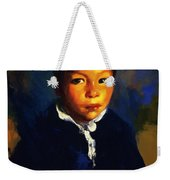 Juanita Also Known As Little Half Breed 1917 Weekender Tote Bag