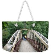 Jubilee Bridge - Matlock Bath Weekender Tote Bag