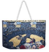 Judge Richard J Leon Complicity  Weekender Tote Bag