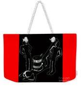 Judgement Weekender Tote Bag