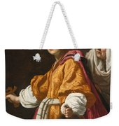 Judith Holding The Head Of Holofernes Weekender Tote Bag
