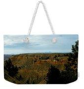 Judith River Cliffs Weekender Tote Bag