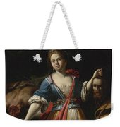 Judith With The Head Of Holofernes 2 Weekender Tote Bag