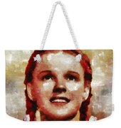 Judy Garland, Vintage Actress By Mb Weekender Tote Bag