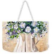 Jug Bouquet Weekender Tote Bag