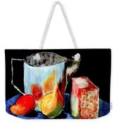 Jug With Fruit Weekender Tote Bag