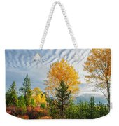 Jughandle Mountain Weekender Tote Bag