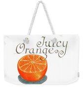 Juicy Orange Weekender Tote Bag