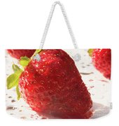 Juicy Strawberries Weekender Tote Bag